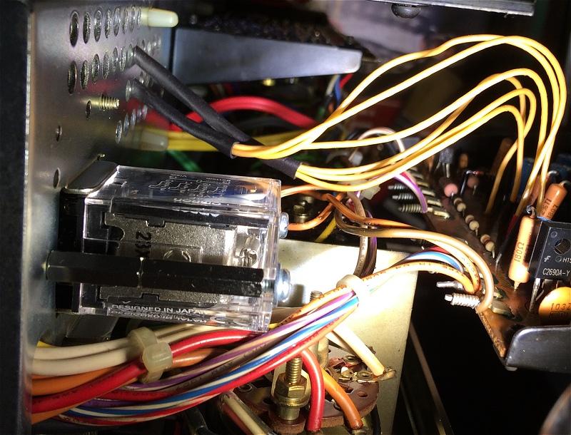 Pioneer SA-9100    Speaker Terminal Board   AKE-013-0